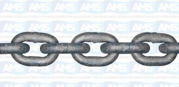 ISO Proof Coil Chain - G30 - 1/2 inch 36ft