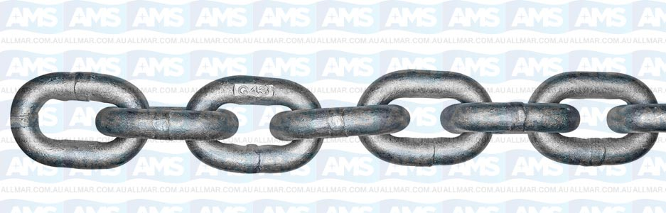 ISO High Test Carbon Steel Chain - 1/2 inch 200ft