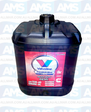 Cummins Valvoline 15W-40 Premium Blue 7800 Diesel Engine Oil 20L