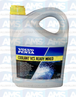 Volvo Coolant Yellow 5 Litre Concentrate