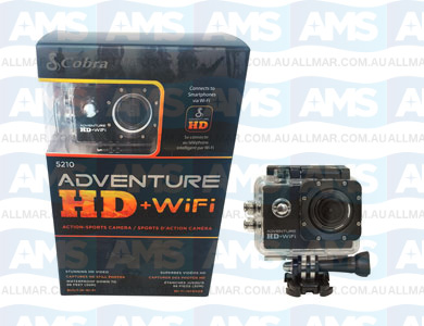 Waspcam Adventure HD WIFI Action Camera