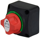 SWITCH BATTERY ISOLATOR 4 POSTION COMPACT