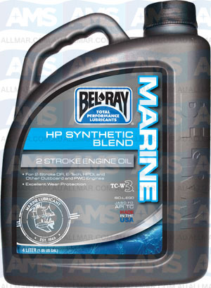 4 Litre Hp Synthetic Blend 2T TC-W3 (Marine Racing 2T Api-TC)