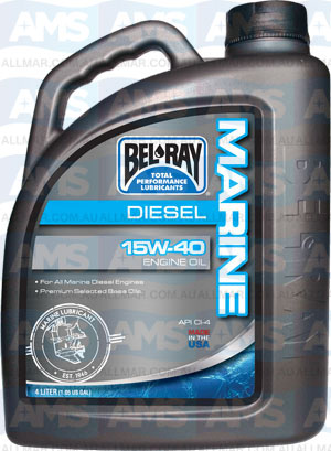 4 Litre Marine Diesel Engine Oil 20W-50 CI-4