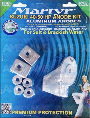 Suzuki Anode 40-50 HP Kit Alloy