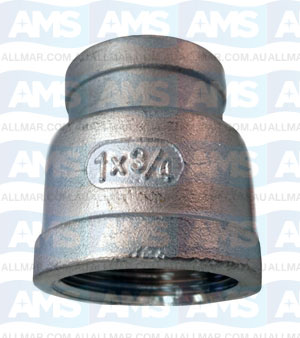 """316 Stainless Red Socket 3/8""""X 1/4"""""""